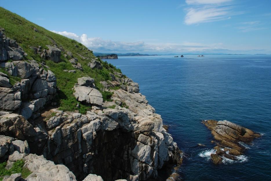 Скалы | Морской заповедник. Хасанский район.