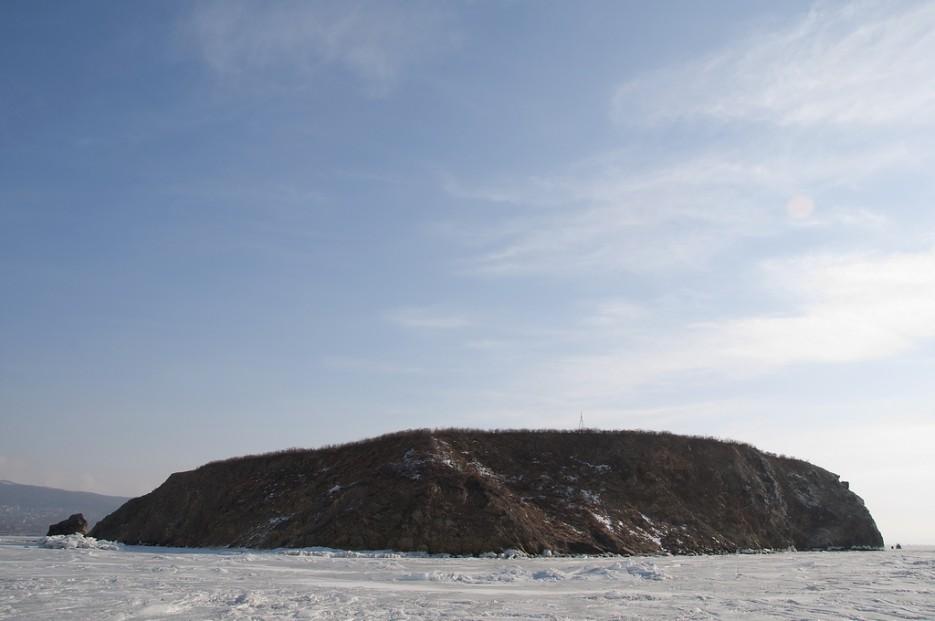 Вид на остров со стороны Тавричанки. | Остров Скребцова (Коврижка)