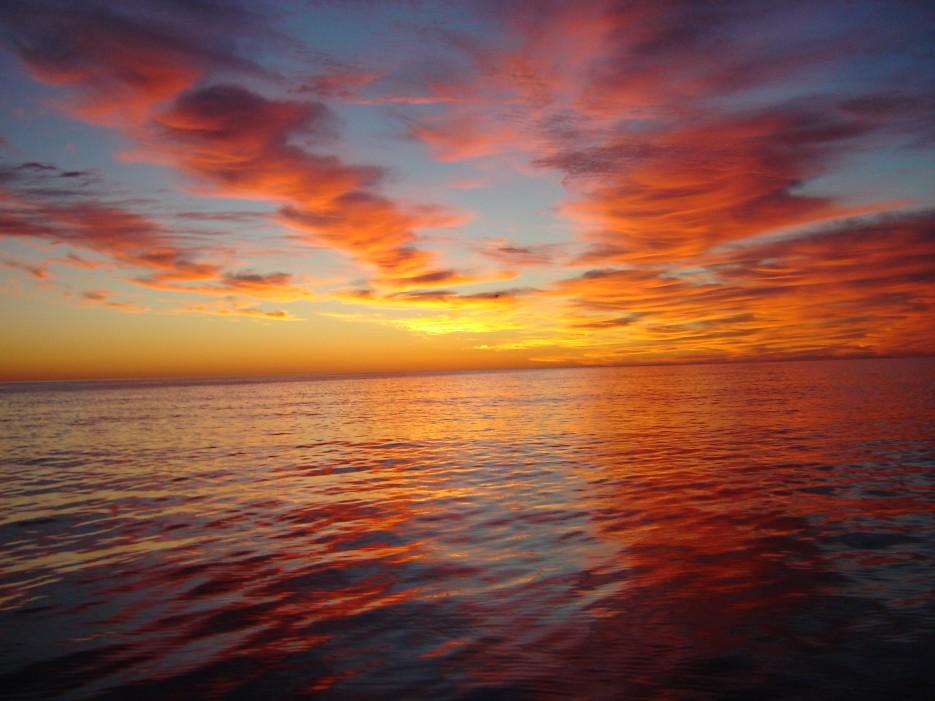 Закат в заливе | Залив Владимира