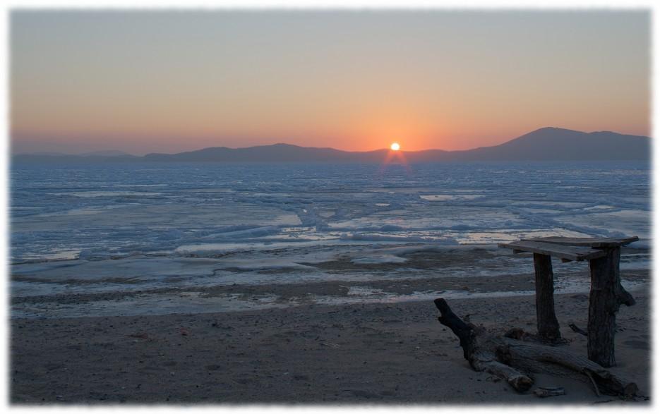 Закат (пляж г.Фокино) | Приморье