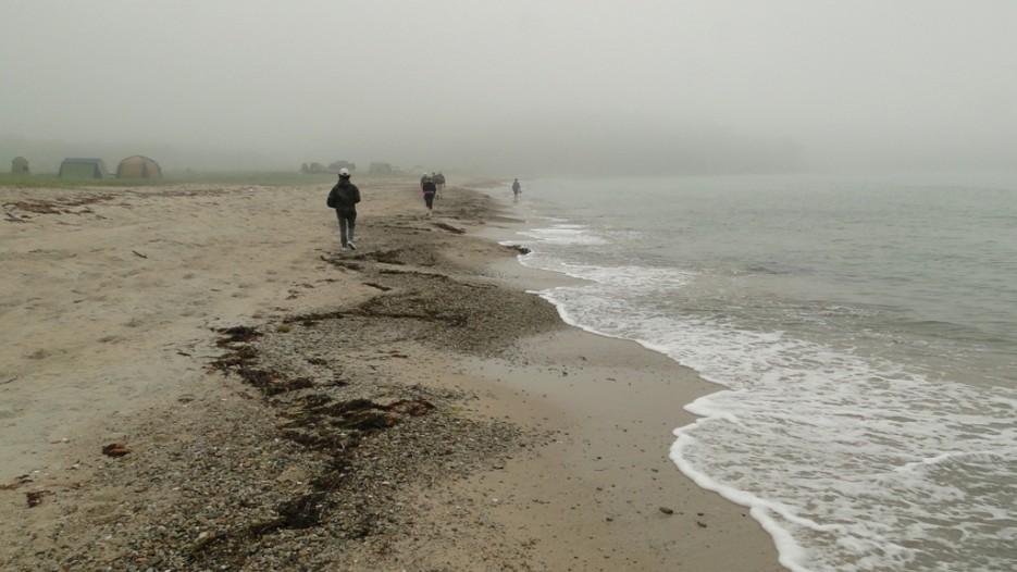 б.Астафьева, идем в туман. | Дальневосточный морской заповедник