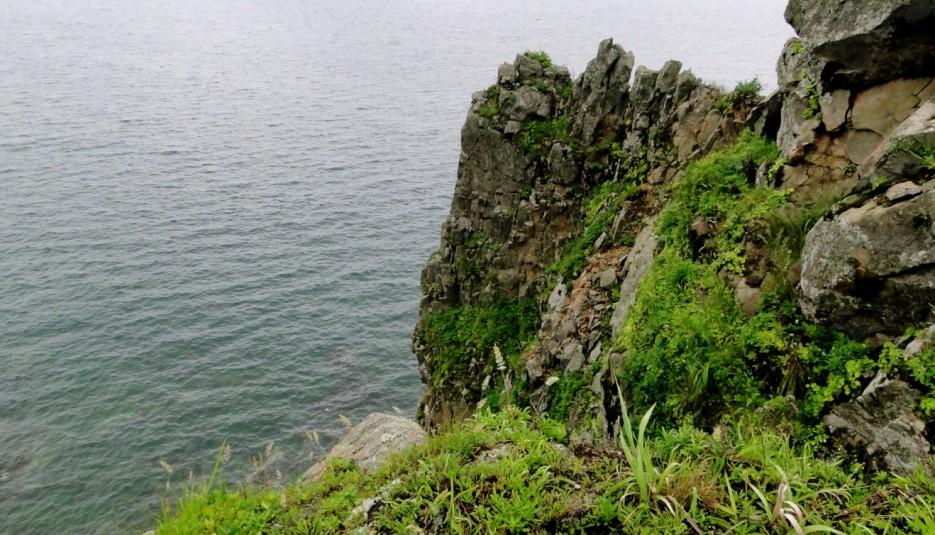 Скалистый берег. из Астафьева в Нерпичью. | Дальневосточный морской заповедник