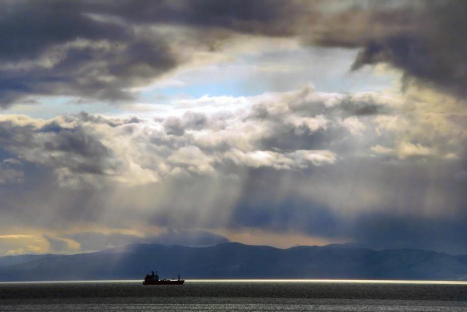 И полился свет на гладь морскую...Амурский залив. | Природа Приморского края. Разное.