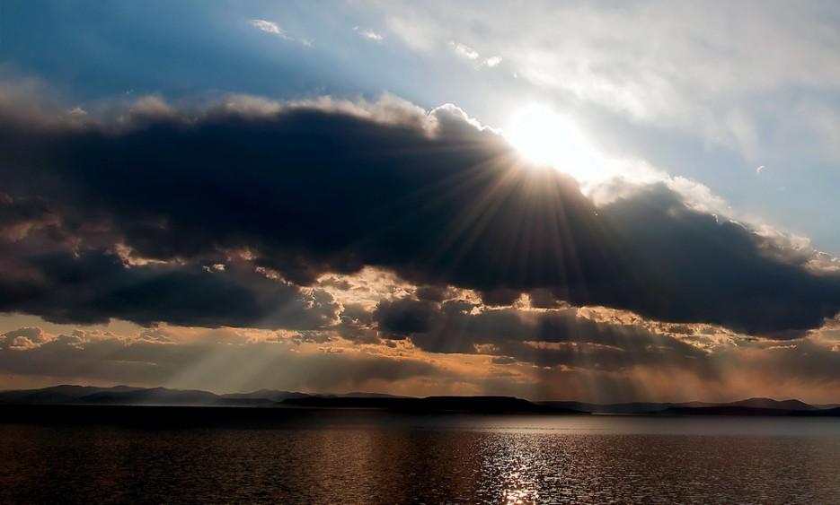 Рассеянный свет. Амурский залив. | Природа Приморского края. Разное.