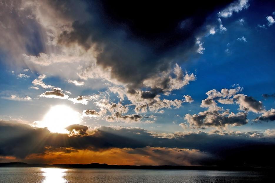 Солнечная феерия. Амурский залив. | Природа Приморского края. Разное.