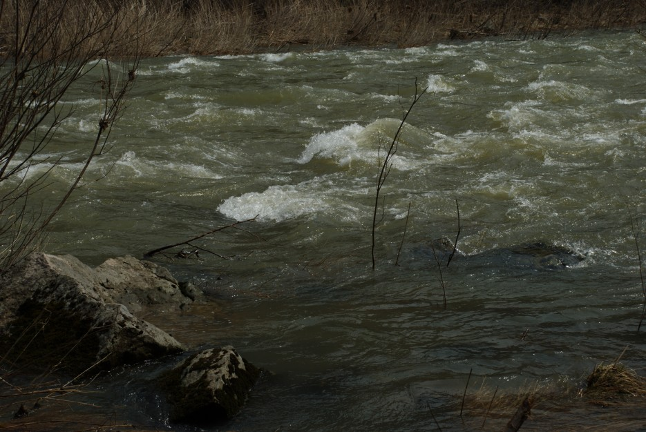 Перекат   Ущелье Дарданеллы, река Тигровая