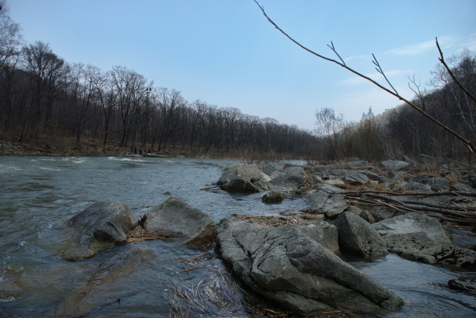 Побережье | Ущелье Дарданеллы, река Тигровая