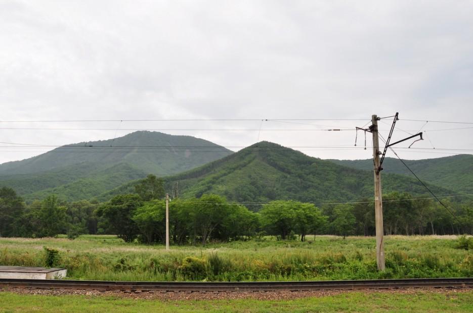 Вид на гору Суходол. | Туманный Пидан (Лето). По левой тропе.