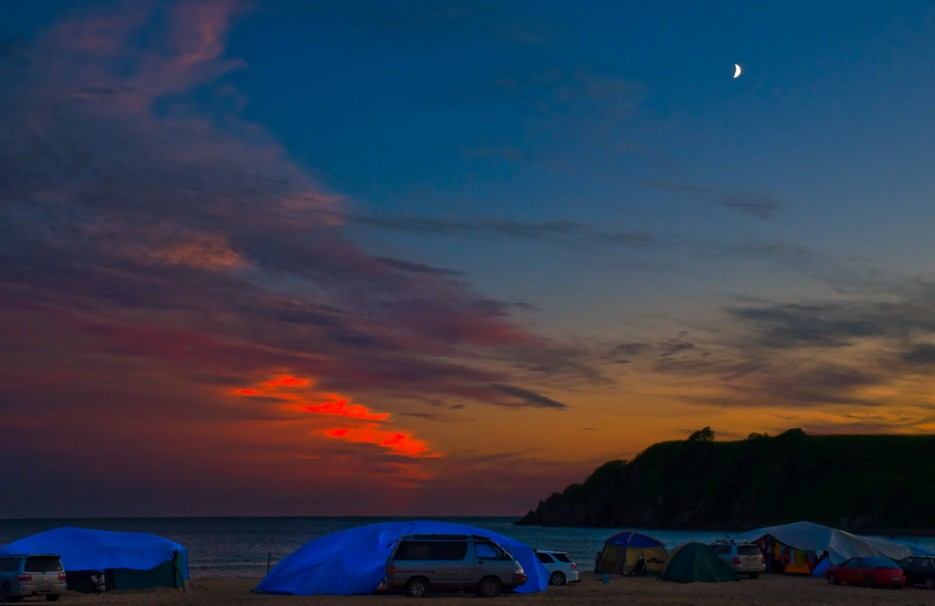 Ливадийские пляжи приморский край
