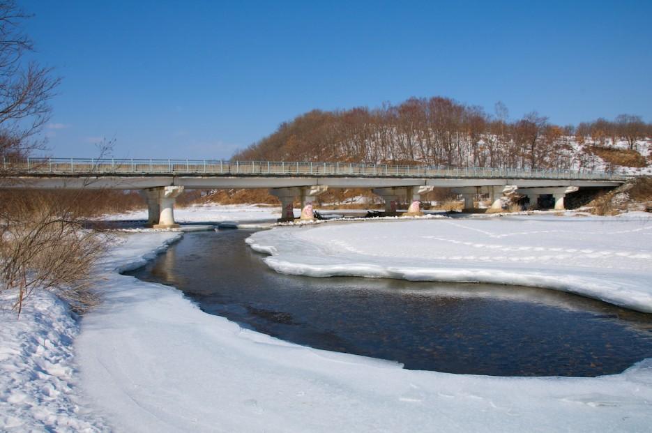 Мост через реку Пойма | Река Пойма.