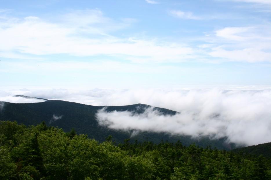 Облачность   Гора Пидан