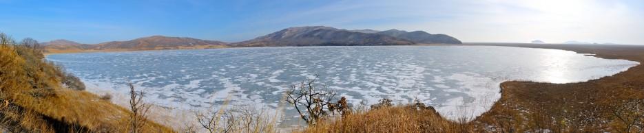 Панорама озера Родниковое. | Панорамы Хасана.