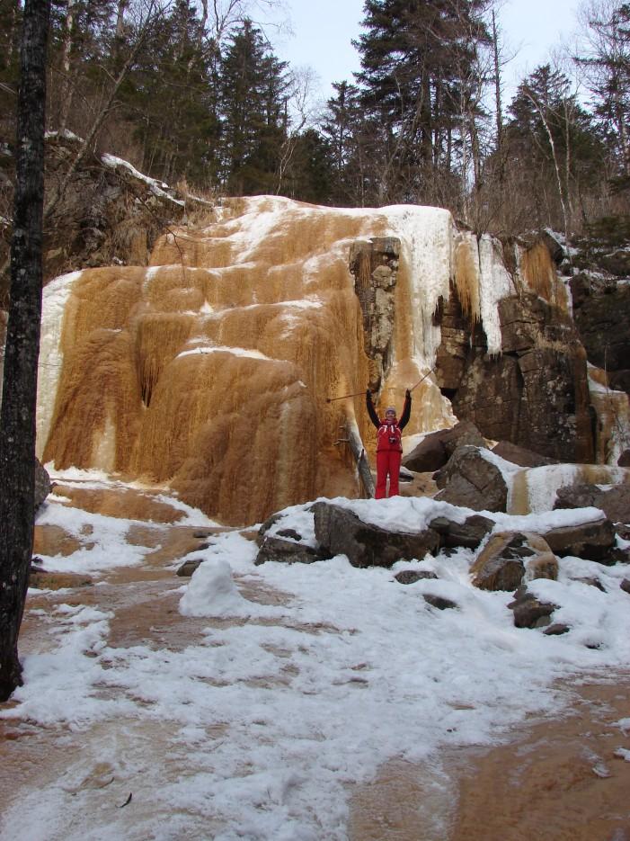 07.Водопад Тигровый. Шкотовское плато. | 1.04.2012 года. Водопад Тигровый. Шкотовское плато.