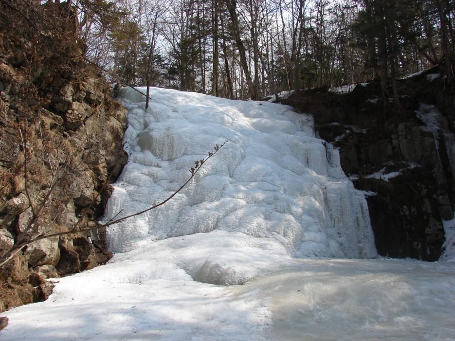 12.Водопад Горбатов. Шкотовское плато. | 1.04.2012 года. Водопад Горбатов. Шкотовское плато.