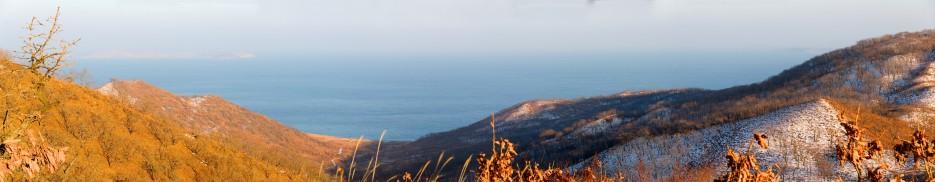 Отроги сопок возле мыса Льва | Панорамы Хасана.
