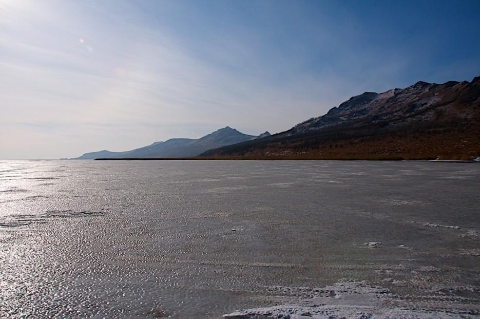 Озеро Птичье. | Хасан зимний. Часть1. Озеро Птичье (Тальми), озеро Родниковое, бухта Калевала.
