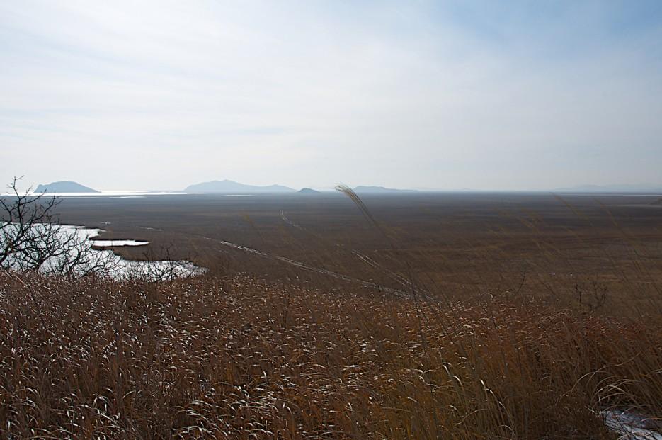 Хасанские болота.   Хасан зимний. Часть1. Озеро Птичье (Тальми), озеро Родниковое, бухта Калевала.