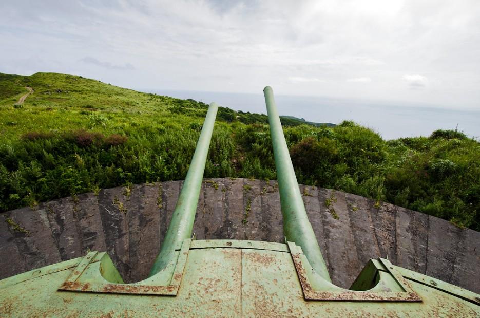Наводка! Огонь!   Мыс Гамова и батарея № 220. Полуостров Гамова. Южное Приморье.
