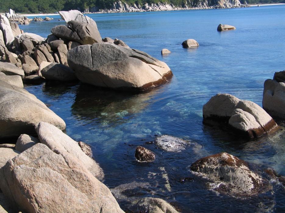 Камни в море   Окунево