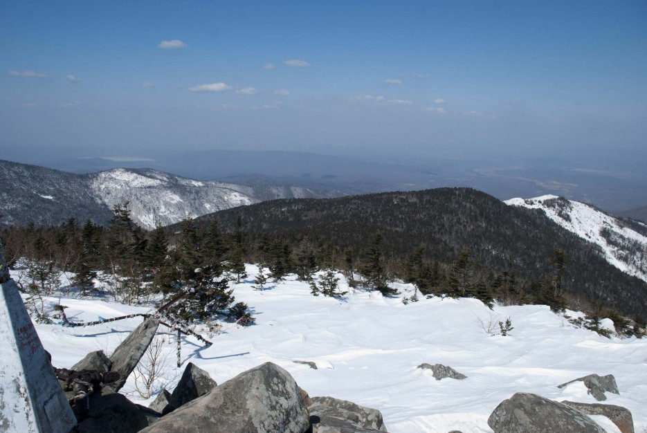 Взгляд с вершины | Гора Ливадийская (Пидан) 2012.04.07 Часть 2.