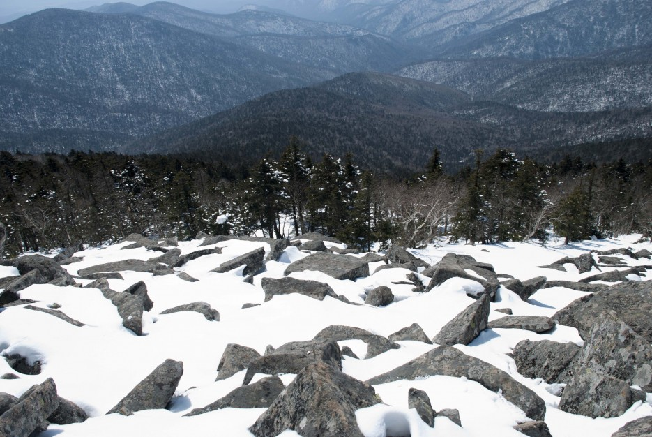 Каменные препятствия на пути | Гора Ливадийская (Пидан) 2012.04.07 Часть 2.