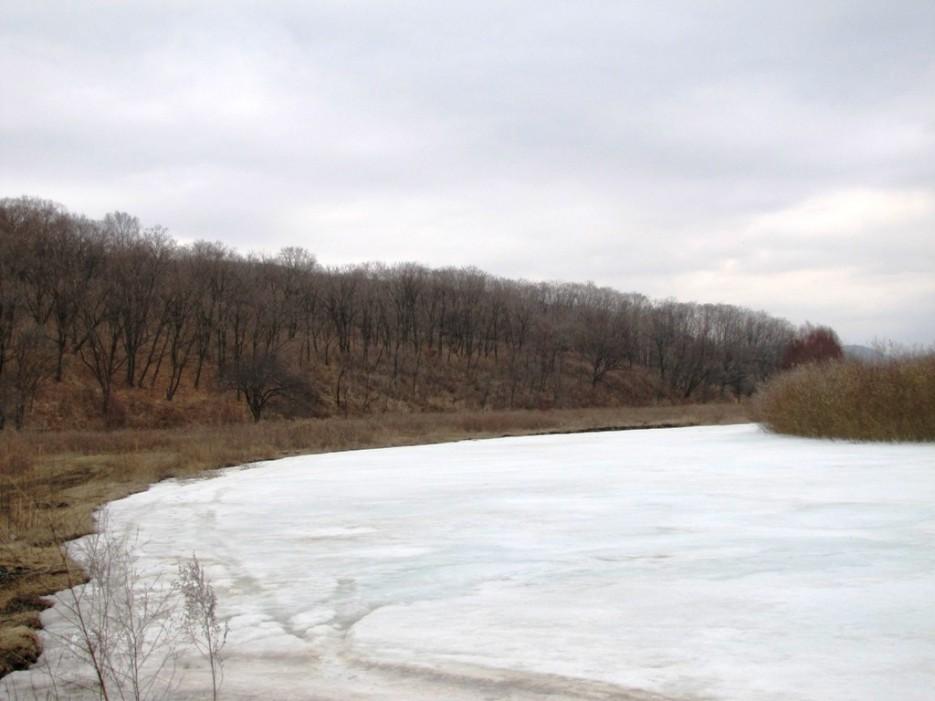лед еще прочный | гора Лысая - река Стеклянуха. Вербное воскресенье. С Праздником!