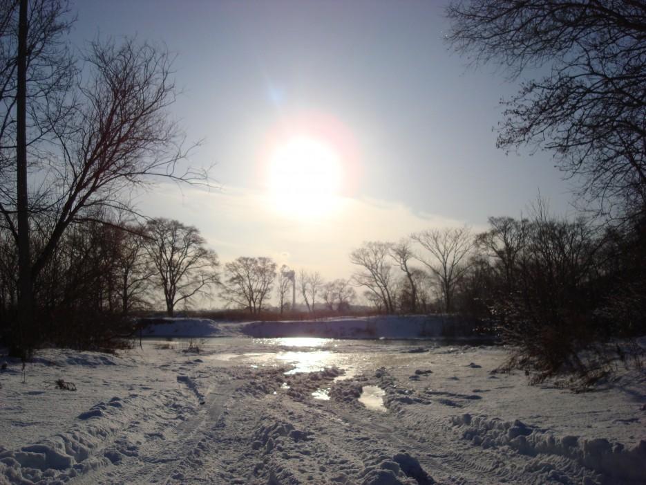 р. Петровка. Шкотовский район | Зима в Приморье