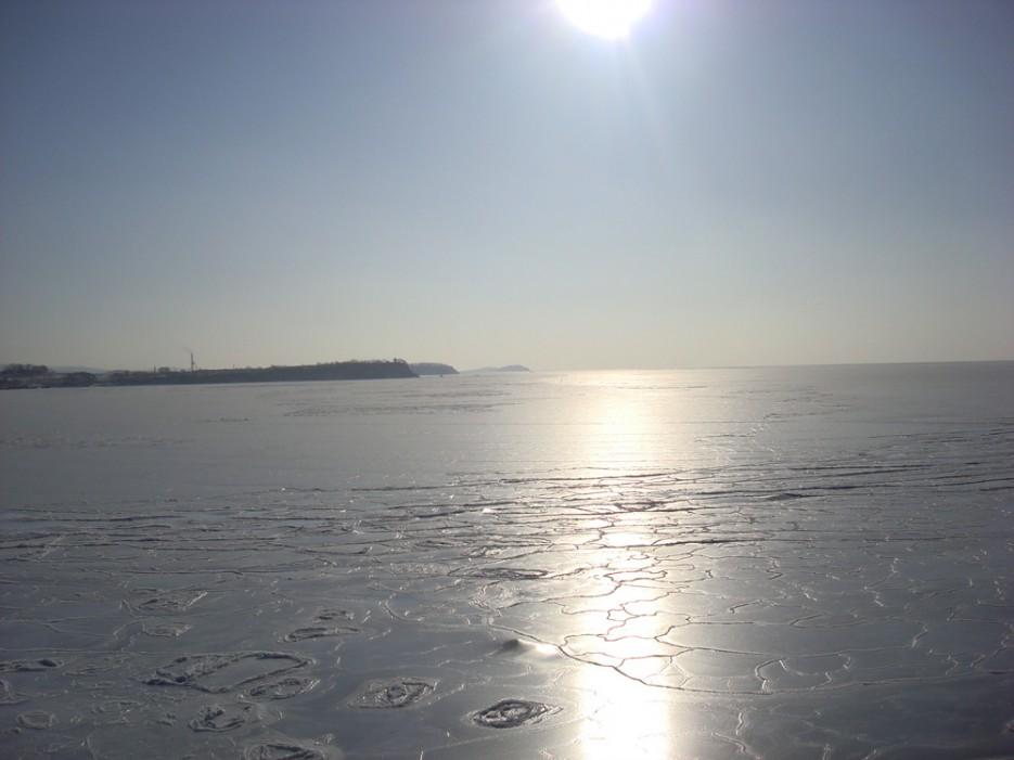 б. Суходол во льду | Зима в Приморье