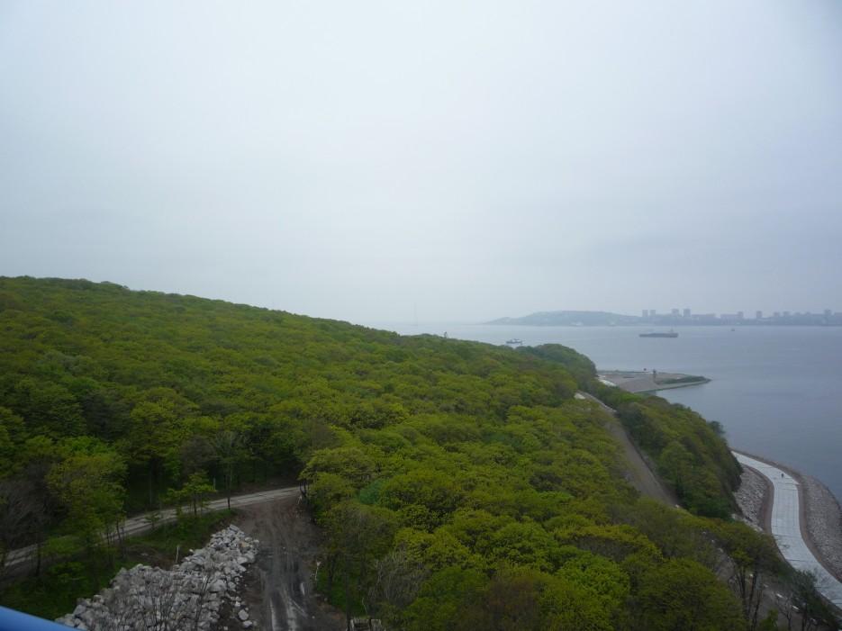 Вид с острова Русский | Походы на остров Русский