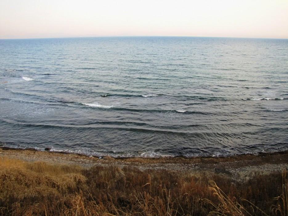 галечный пляж   Шамора