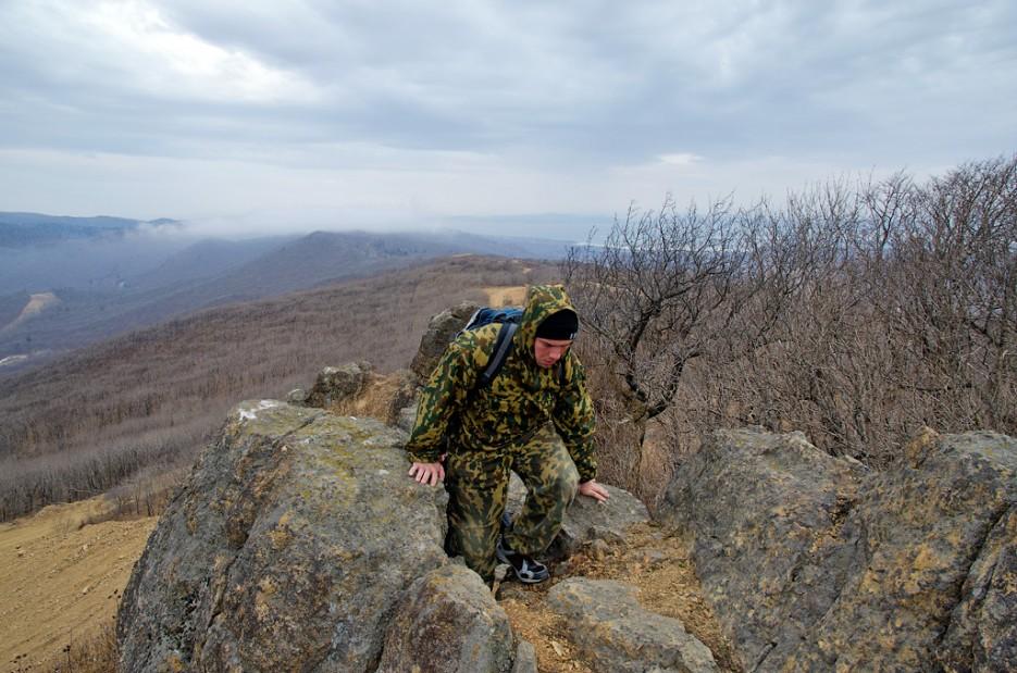 Почти вершина! | Траверс от Шаморовского перевала до посёлка Емар по хребту Богатая грива (Океанский).