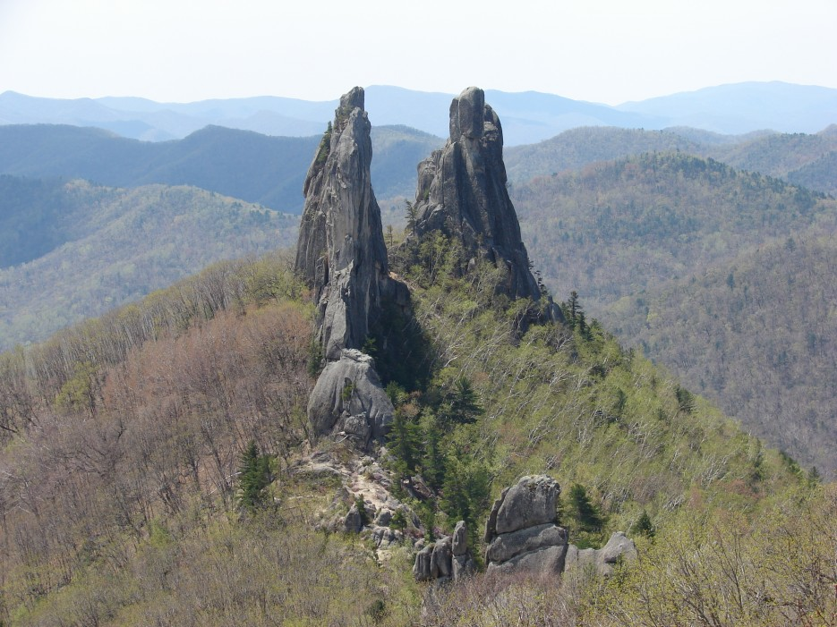 """20.Вид на скалы """"Замок"""".   п.Чистоводное. """"Парк Драконов"""" 12.05.2012 года."""