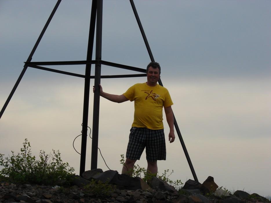 05.Тригоном на г.Криничная. | 26.05.2012 года. Поездка на г.Криничная (826 м).