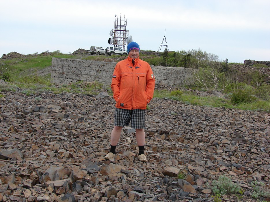 11.На вершине г.Криничная похолодало. | 26.05.2012 года. Поездка на г.Криничная (826 м).