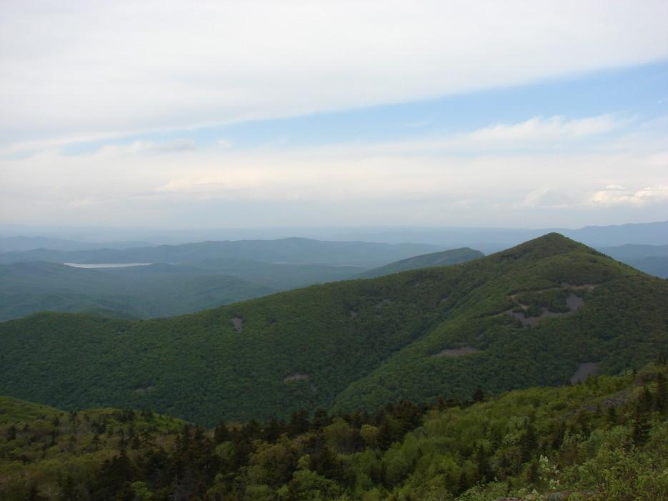 14.Вид на водохранилище у д.Молельный Мыс.   26.05.2012 года. Поездка на г.Криничная (826 м).