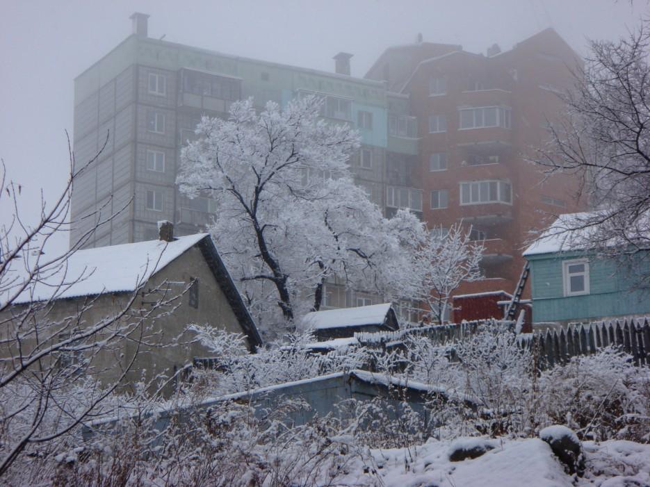 город зимой   Владивосток (подборка)