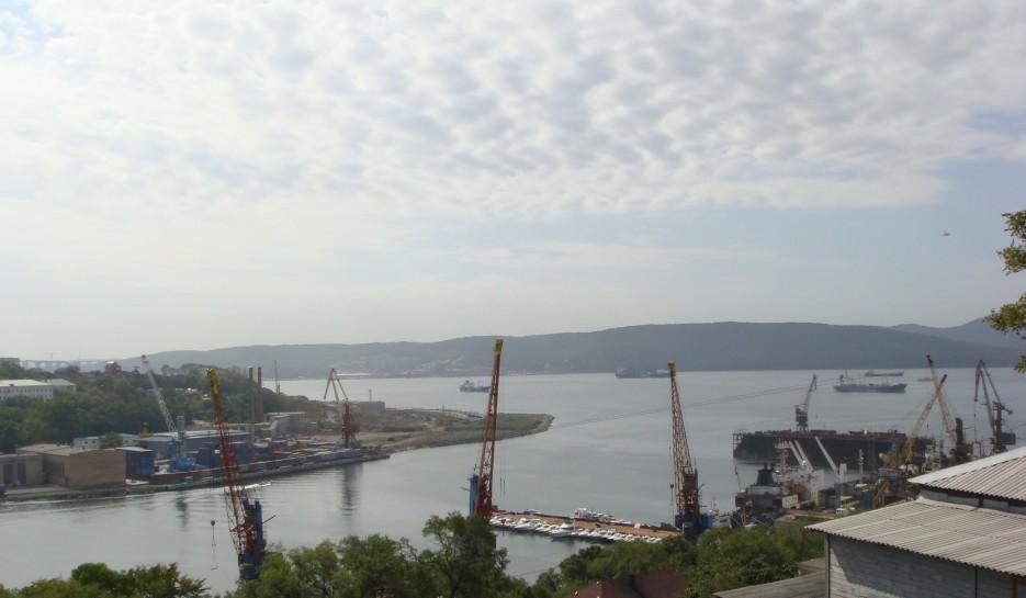 район Змеинки, порт | Владивосток (подборка)