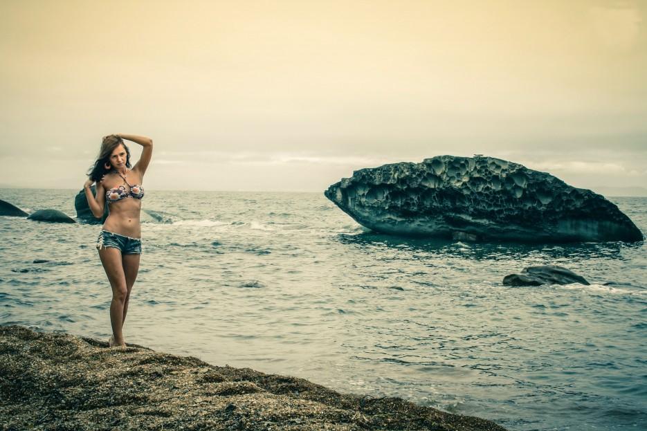 Фото девушек с лазурного берега