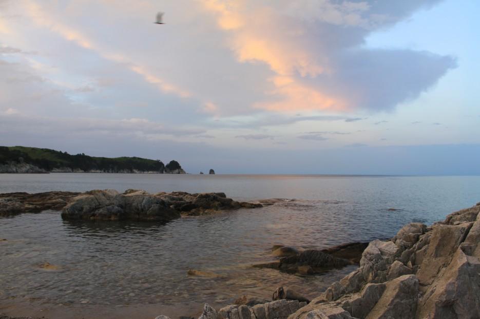 Вечерний закат | Отдых в Приморье
