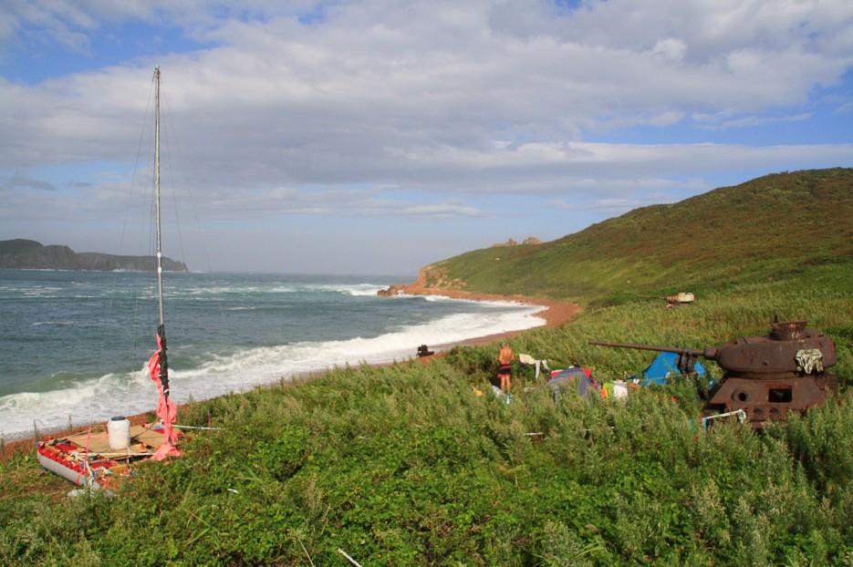 Солнечный денек. | Летние приключения на парусном катамаране