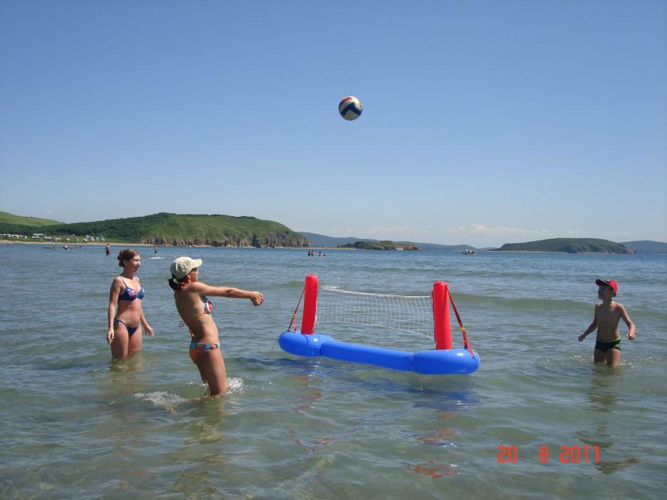 Водный волейболл | о. Попов