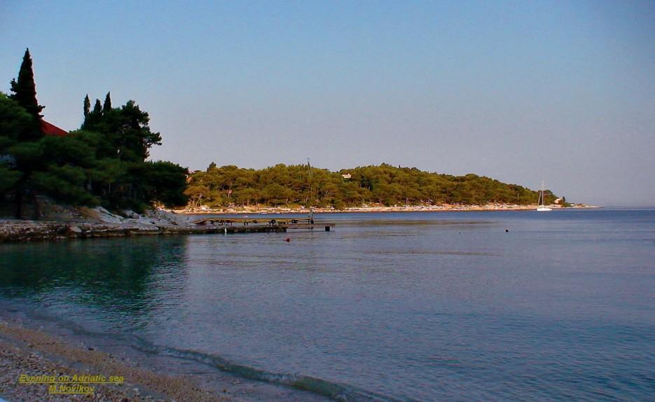 На берегу | Пейзажи Хорватии