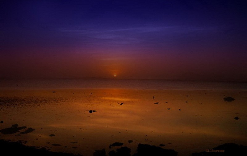 Ранний рассвет -Израиль ,Мёртвое море | Египет, Израиль, Турция