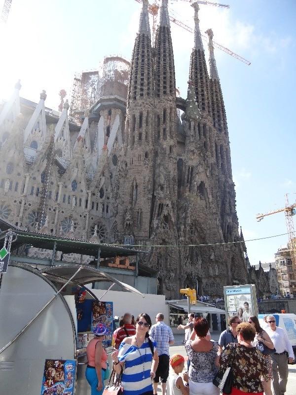Храм Святого Семейства (Sagrada Familia) г.Барселона | Свадебное путешествие в Испанию