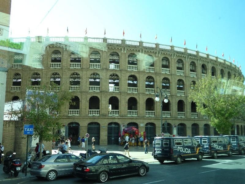 Арена для проведения Корриды. г.Валенсия   Свадебное путешествие в Испанию
