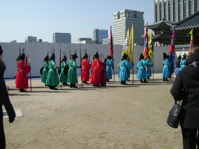 Церемония смены караула | Тур в Сеул