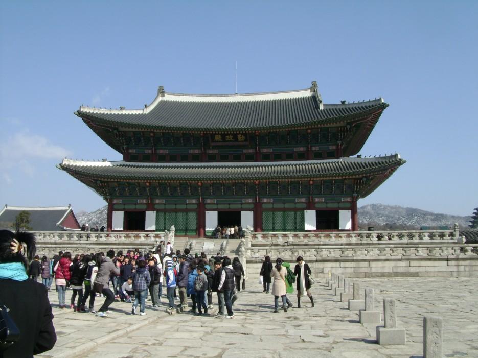Дворец Кёнбоккун | Тур в Сеул
