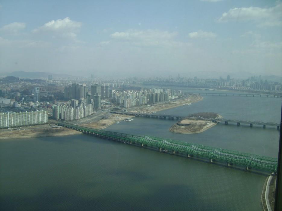 Вид с 63 этажа | Тур в Сеул