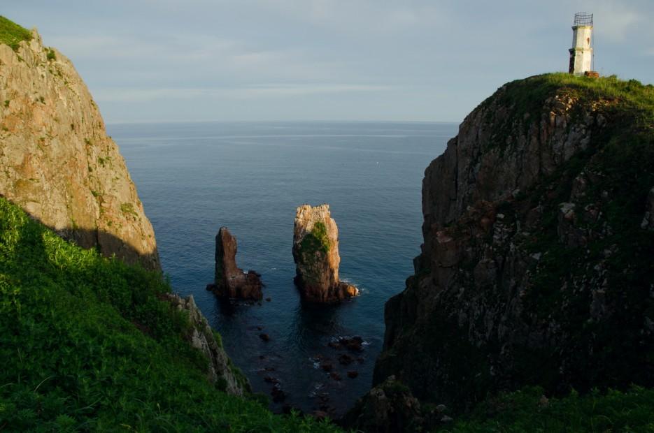 Северная оконечность острова Шкота. | Остров Русский. Возвращение.