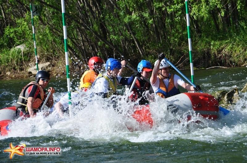 Фото 4398   Рафтинг 3-5 июня 2011 на реке Партизанской
